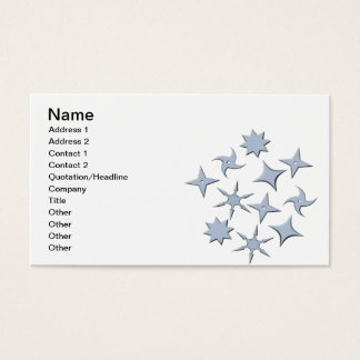 Reach For The Stars Business Card