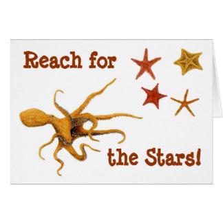 Reach for the Stars! Card
