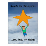 Reach for the stars... greeting card