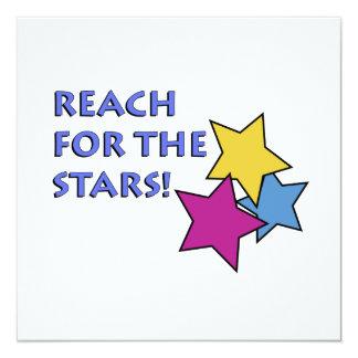 Reach for the Stars! Invitation