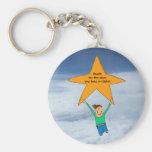 Reach for the stars... keychain