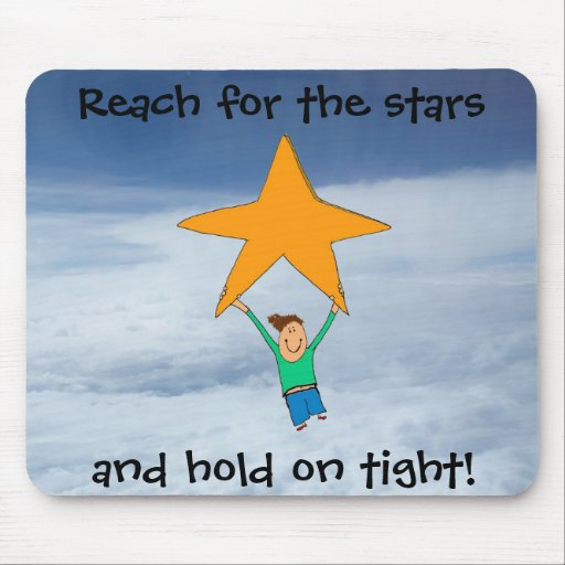 Reach for the stars... mouse pads