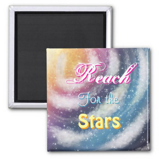 """""""Reach for the Stars"""" Nacreous clouds Magnet Refrigerator Magnet"""