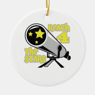 REACH FOR THE STARS CHRISTMAS ORNAMENT