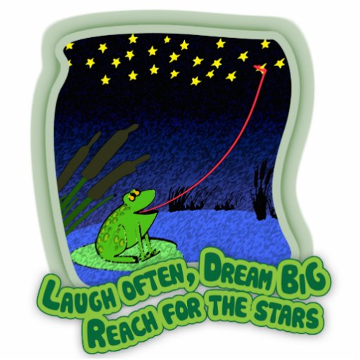 reach for the stars cut out