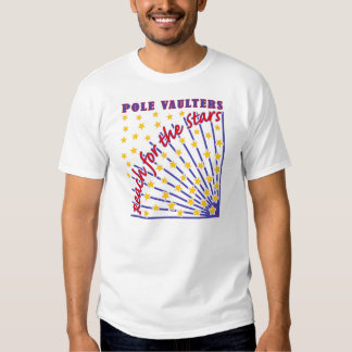 Reach for the Stars Pole Vaulter T-shirt White