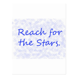 Reach for the Stars Postcard