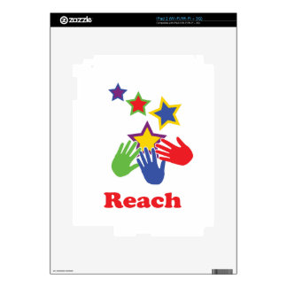 Reach for the Stars Skin For The iPad 2