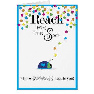 Reach for the Stars Success Card