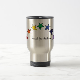 Reach for the stars travel mug