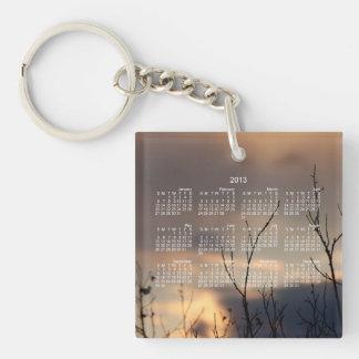 Reach for the Sunset; 2013 Calendar Keychain