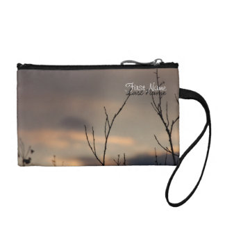 Reach for the Sunset; Customizable Coin Purse
