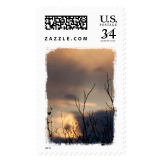 Reach for the Sunset Postage Stamp