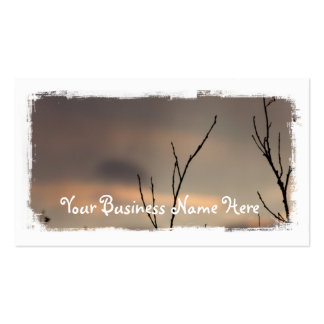 Reach for the Sunset; Promotional Business Card Templates