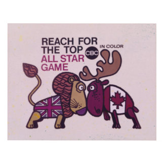 Reach For The Top All Star Game - promo Panel Wall Art