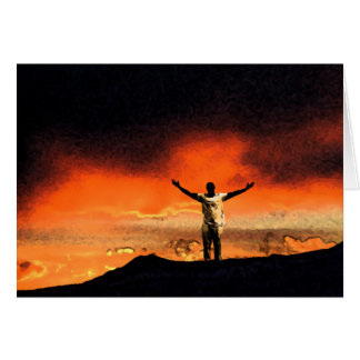 Reach for the Top of Your Mountain Greeting Card