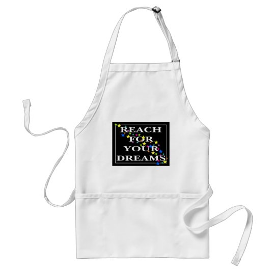Reach for Your Dreams Adult Apron