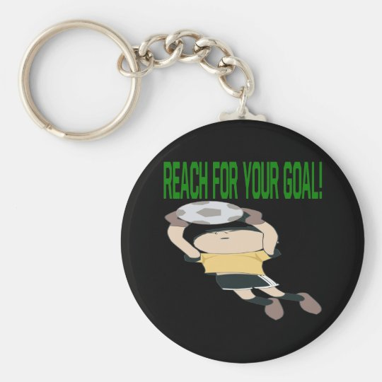 Reach For Your Goal Keychain