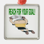 Reach For Your Goal Ornament