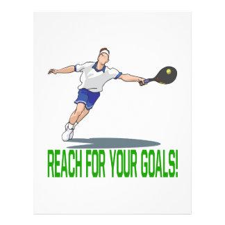 Reach For Your Goals Custom Flyer