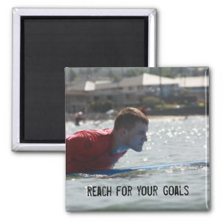 Reach for your Goals Magnet
