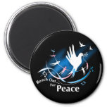 Reach Out... For Peace Magnets