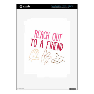 Reach Out iPad 3 Decals