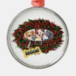 Reach Out Rescue Wreath Ornament