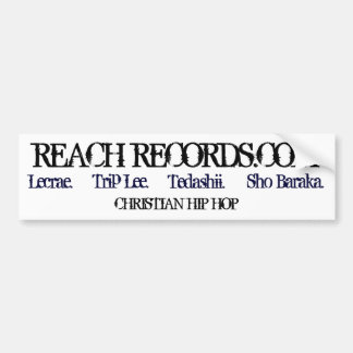 Reach Records.com Bumper Sticker