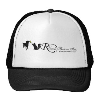 REACH Rescue logo hat