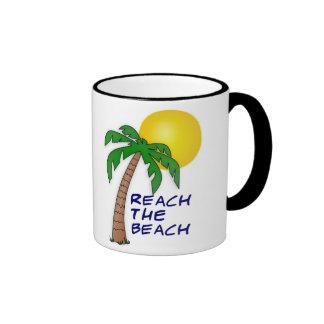 Reach the Beach Collection Ringer Coffee Mug