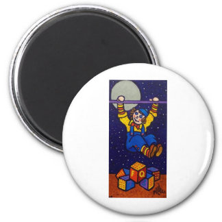 Reach the Stars by Piliero 2 Inch Round Magnet