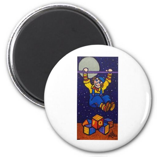 Reach the Stars by Piliero Refrigerator Magnet