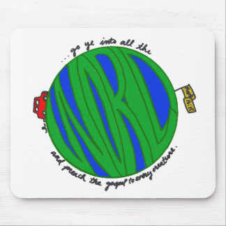 Reach the World Mouse Pad