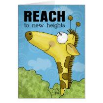 Reach to New Heights Giraffe