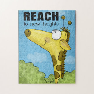 Reach to New Heights Giraffe Puzzle