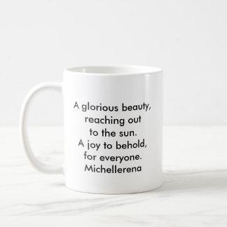 Reachin' out... coffee mug