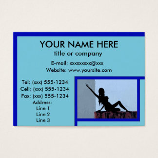 REACHING FOR A DREAM design ~ Business Card