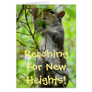 Reaching For New Heights - Congratiulations Card