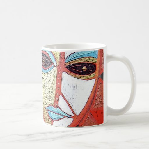 reaching for raven 74 coffee mug