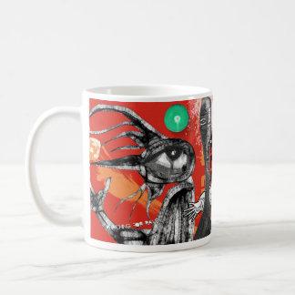 reaching for raven mugs