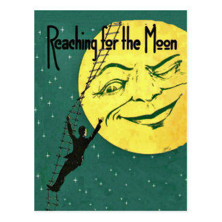 Reaching for the Moon Postcard