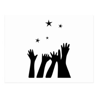 Reaching for the Stars Postcard