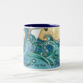 Reaching for the Sun Two-Tone Coffee Mug