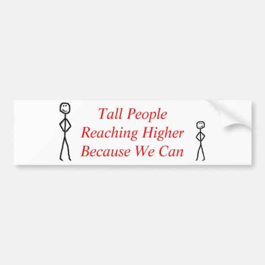Reaching Higher Bumper Sticker