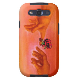 Reaching out samsung galaxy s3 case