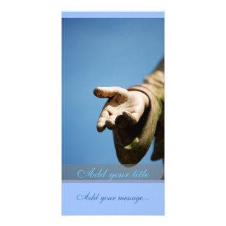 Reaching out my hand card
