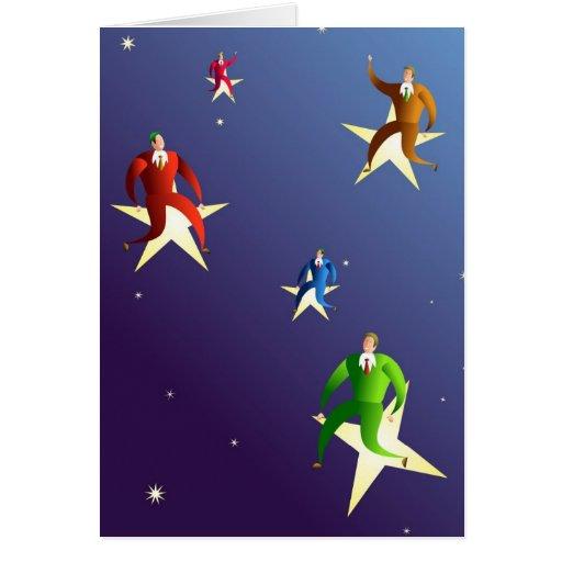 Reaching The Stars Greeting Card