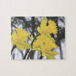Reaching Upwards - Yellow Daffodils Puzzle