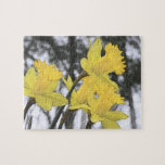 Reaching Upwards - Yellow Daffodils Puzzles